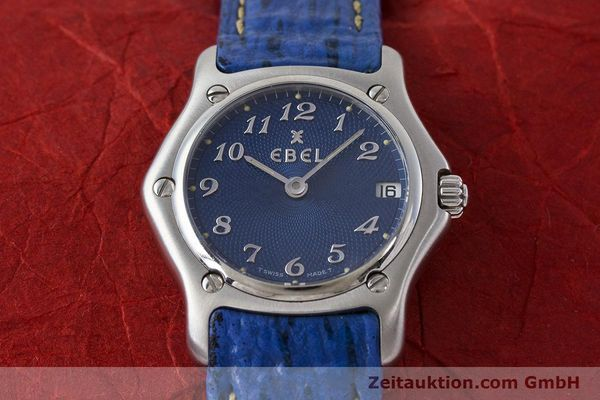 Used luxury watch Ebel 1911 steel quartz Kal. 688 Ref. 988901  | 161666 15