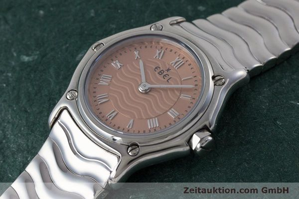 Used luxury watch Ebel Classic Sport steel quartz Kal. 157 Ref. E9157112  | 161667 01