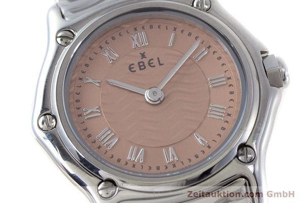 Used luxury watch Ebel Classic Sport steel quartz Kal. 157 Ref. E9157112  | 161667 02