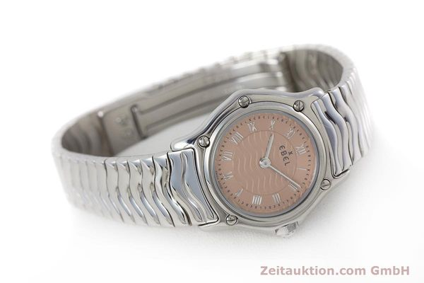 Used luxury watch Ebel Classic Sport steel quartz Kal. 157 Ref. E9157112  | 161667 03