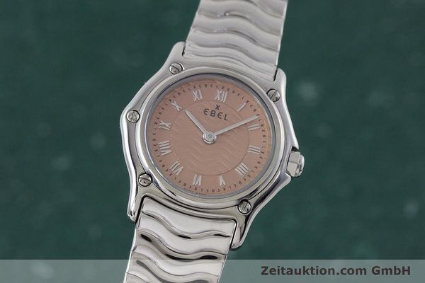 Used luxury watch Ebel Classic Sport steel quartz Kal. 157 Ref. E9157112  | 161667 04
