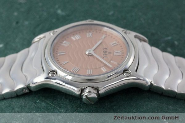 Used luxury watch Ebel Classic Sport steel quartz Kal. 157 Ref. E9157112  | 161667 05
