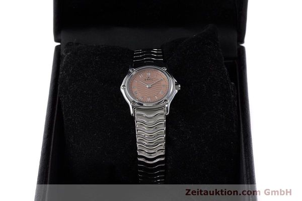 Used luxury watch Ebel Classic Sport steel quartz Kal. 157 Ref. E9157112  | 161667 07