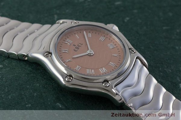 Used luxury watch Ebel Classic Sport steel quartz Kal. 157 Ref. E9157112  | 161667 15