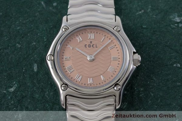 Used luxury watch Ebel Classic Sport steel quartz Kal. 157 Ref. E9157112  | 161667 16