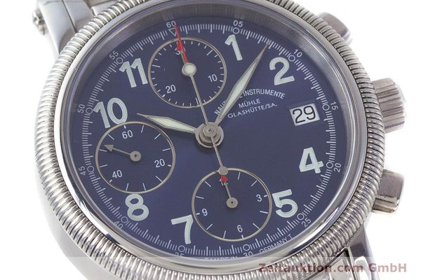 Used luxury watch Mühle Chronograph II chronograph steel automatic Kal. ETA 7750 Ref. M1-31-30  | 161672 02