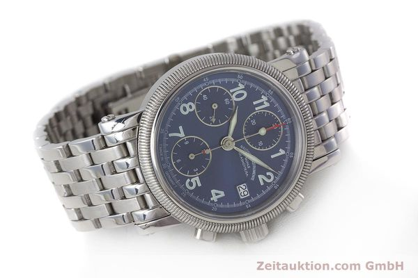 Used luxury watch Mühle Chronograph II chronograph steel automatic Kal. ETA 7750 Ref. M1-31-30  | 161672 03