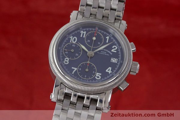 Used luxury watch Mühle Chronograph II chronograph steel automatic Kal. ETA 7750 Ref. M1-31-30  | 161672 04