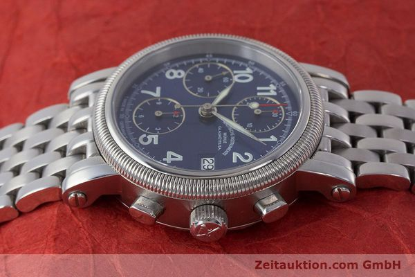 Used luxury watch Mühle Chronograph II chronograph steel automatic Kal. ETA 7750 Ref. M1-31-30  | 161672 05