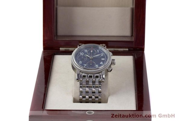 Used luxury watch Mühle Chronograph II chronograph steel automatic Kal. ETA 7750 Ref. M1-31-30  | 161672 07