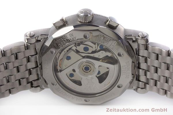 Used luxury watch Mühle Chronograph II chronograph steel automatic Kal. ETA 7750 Ref. M1-31-30  | 161672 09
