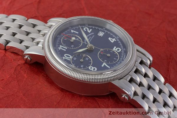 Used luxury watch Mühle Chronograph II chronograph steel automatic Kal. ETA 7750 Ref. M1-31-30  | 161672 15