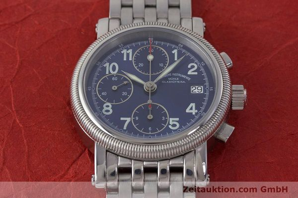 Used luxury watch Mühle Chronograph II chronograph steel automatic Kal. ETA 7750 Ref. M1-31-30  | 161672 16