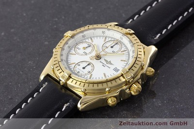 BREITLING CHRONOMAT CHRONOGRAPHE OR 18 CT AUTOMATIQUE KAL. VALJ. 7750 LP: 23030EUR [161673]