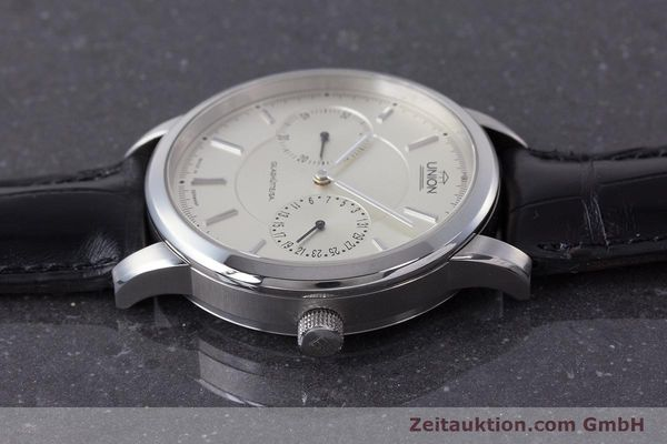 Used luxury watch Union Glashütte Zeigerdatum steel automatic Kal. 26 Ref. 2602150510  | 161682 05