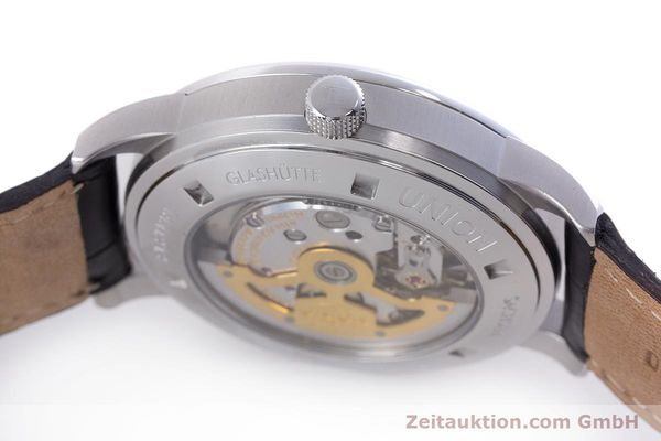 Used luxury watch Union Glashütte Zeigerdatum steel automatic Kal. 26 Ref. 2602150510  | 161682 11