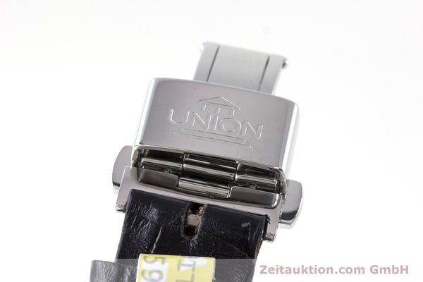 Used luxury watch Union Glashütte Zeigerdatum steel automatic Kal. 26 Ref. 2602150510  | 161682 12