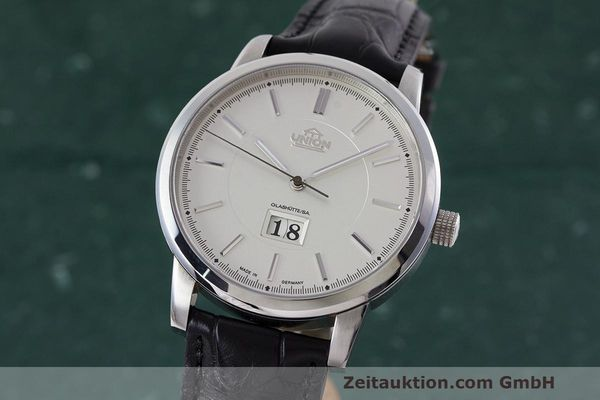 UNION GLASHÜTTE PANORAMADATUM ACIER AUTOMATIQUE KAL. 26-45 LP: 3040EUR  [161683]