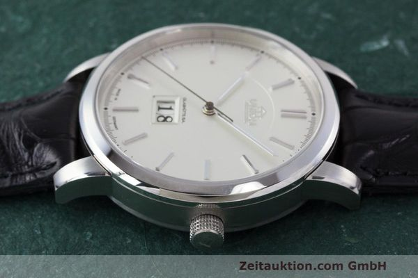 Used luxury watch Union Glashütte Panoramadatum steel automatic Kal. 26-45 Ref. 26-45-15-01-10  | 161683 05