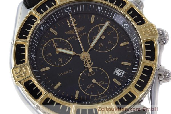 Used luxury watch Breitling J-Class chronograph steel / gold quartz Kal. B53 ETA 251262 Ref. D53067  | 161688 02