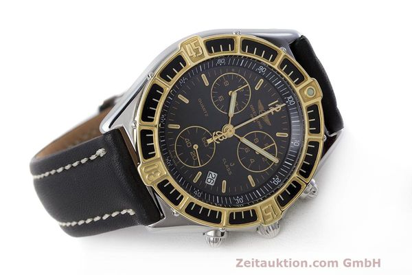 Used luxury watch Breitling J-Class chronograph steel / gold quartz Kal. B53 ETA 251262 Ref. D53067  | 161688 03