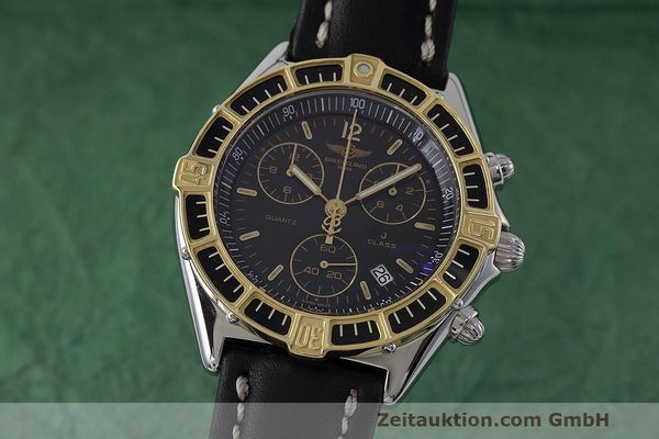 Used luxury watch Breitling J-Class chronograph steel / gold quartz Kal. B53 ETA 251262 Ref. D53067  | 161688 04