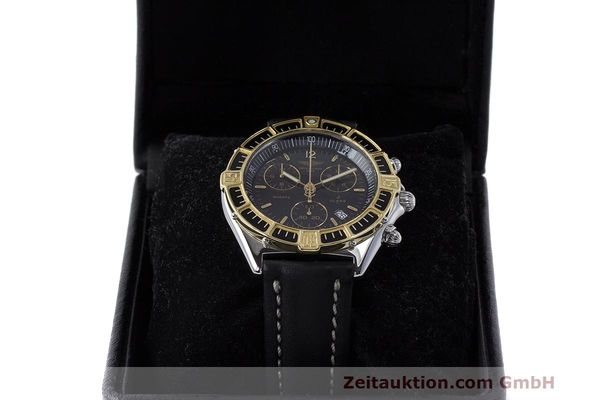 Used luxury watch Breitling J-Class chronograph steel / gold quartz Kal. B53 ETA 251262 Ref. D53067  | 161688 07