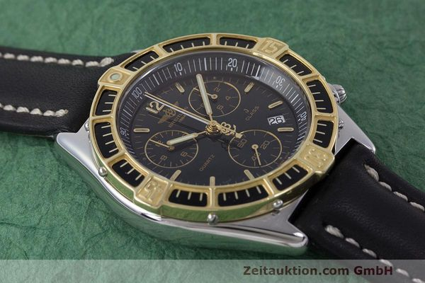Used luxury watch Breitling J-Class chronograph steel / gold quartz Kal. B53 ETA 251262 Ref. D53067  | 161688 11