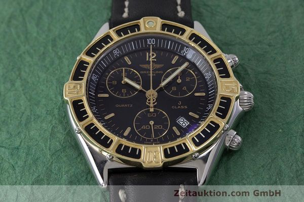 Used luxury watch Breitling J-Class chronograph steel / gold quartz Kal. B53 ETA 251262 Ref. D53067  | 161688 12