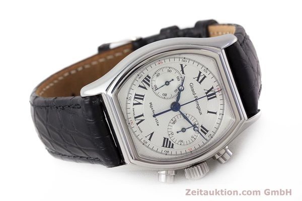 Used luxury watch Girard Perregaux Richeville chronograph steel manual winding Kal. LWO1872 Ref. 2710  | 161689 03