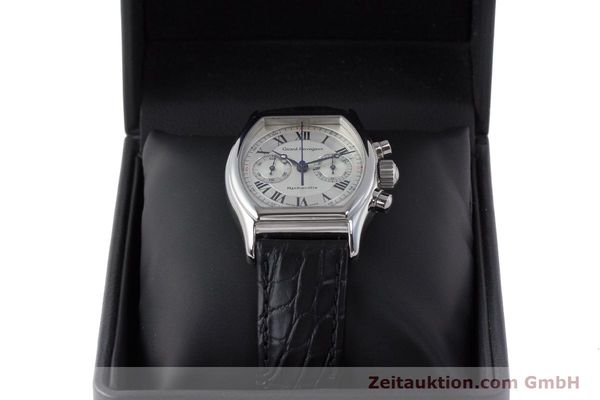 Used luxury watch Girard Perregaux Richeville chronograph steel manual winding Kal. LWO1872 Ref. 2710  | 161689 07