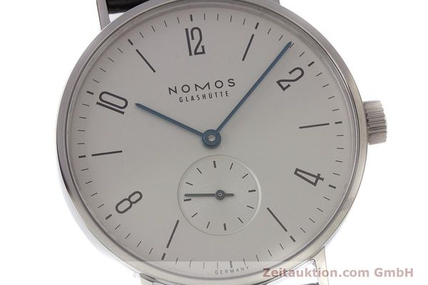 Used luxury watch Nomos Tangente steel manual winding Kal. Alpha  | 161691 02