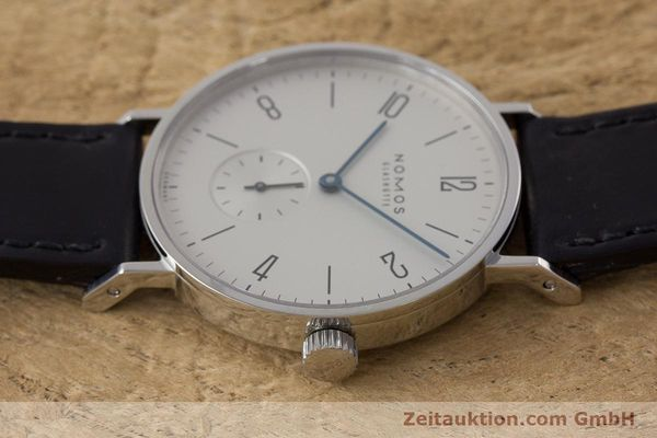 Used luxury watch Nomos Tangente steel manual winding Kal. Alpha  | 161691 05