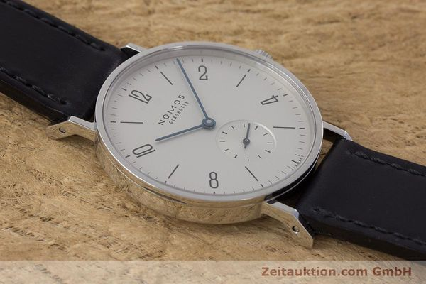 Used luxury watch Nomos Tangente steel manual winding Kal. Alpha  | 161691 13