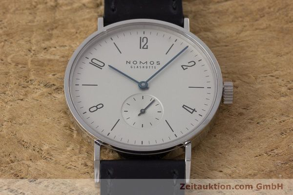 Used luxury watch Nomos Tangente steel manual winding Kal. Alpha  | 161691 14