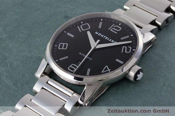 Used luxury watch Montblanc Timewalker steel automatic Kal. 4810401 ETA 2892A2 Ref. 7070  | 161695 01