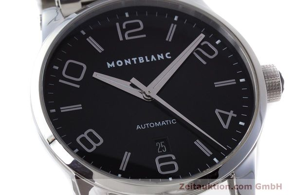 Used luxury watch Montblanc Timewalker steel automatic Kal. 4810401 ETA 2892A2 Ref. 7070  | 161695 02