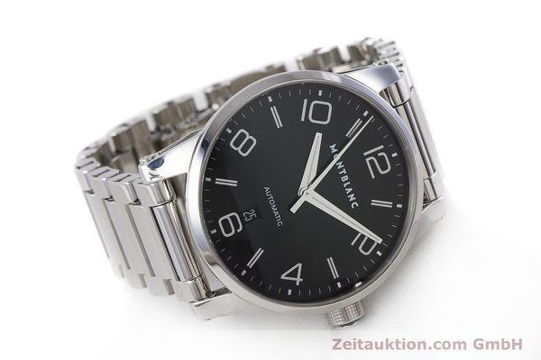 Used luxury watch Montblanc Timewalker steel automatic Kal. 4810401 ETA 2892A2 Ref. 7070  | 161695 03