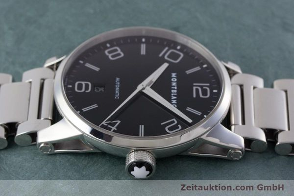 Used luxury watch Montblanc Timewalker steel automatic Kal. 4810401 ETA 2892A2 Ref. 7070  | 161695 05