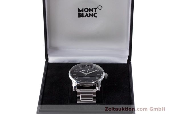 Used luxury watch Montblanc Timewalker steel automatic Kal. 4810401 ETA 2892A2 Ref. 7070  | 161695 07