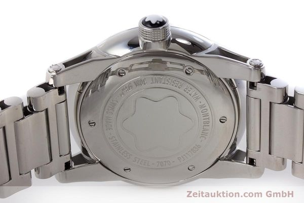 Used luxury watch Montblanc Timewalker steel automatic Kal. 4810401 ETA 2892A2 Ref. 7070  | 161695 09