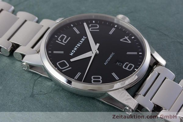 Used luxury watch Montblanc Timewalker steel automatic Kal. 4810401 ETA 2892A2 Ref. 7070  | 161695 14