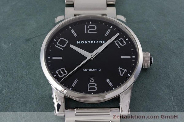 Used luxury watch Montblanc Timewalker steel automatic Kal. 4810401 ETA 2892A2 Ref. 7070  | 161695 15