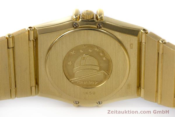 Used luxury watch Omega Constellation 18 ct gold quartz Kal. 1450  | 161699 09
