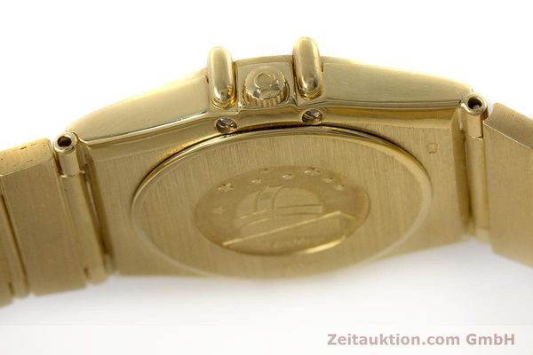 Used luxury watch Omega Constellation 18 ct gold quartz Kal. 1450  | 161699 11