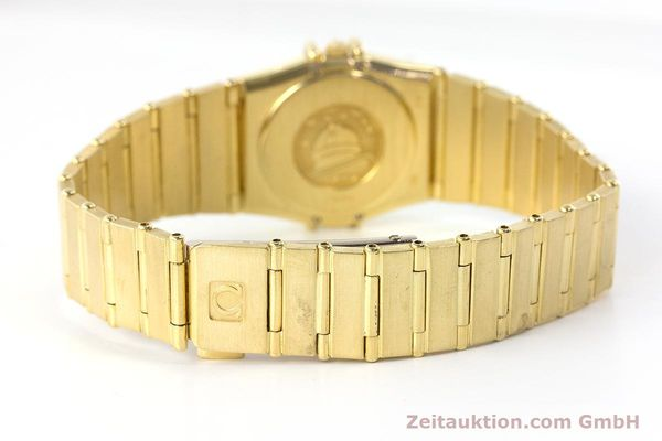 Used luxury watch Omega Constellation 18 ct gold quartz Kal. 1450  | 161699 12