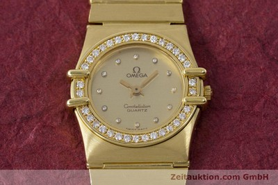 OMEGA CONSTELLATION OR 18 CT QUARTZ KAL. 1450 LP: 22100EUR [161699]