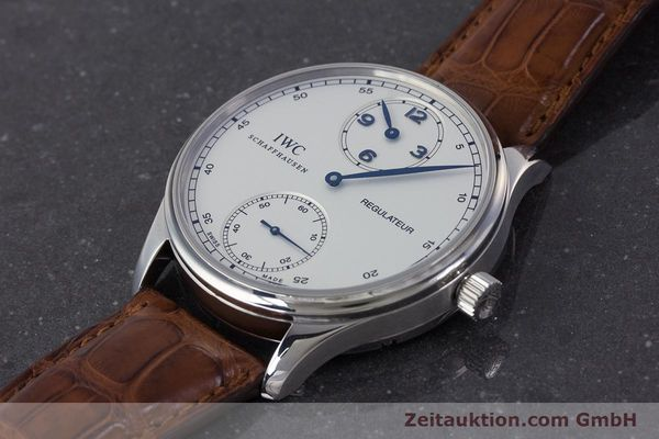 Used luxury watch IWC Portugieser steel manual winding Kal. 98245 Ref. IW544401  | 161701 01
