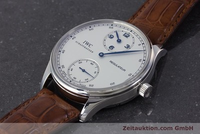 IWC PORTUGIESER STEEL MANUAL WINDING KAL. 98245 LP: 8900EUR [161701]