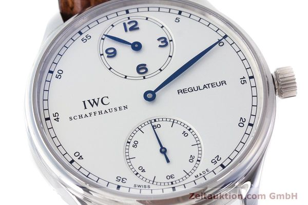 Used luxury watch IWC Portugieser steel manual winding Kal. 98245 Ref. IW544401  | 161701 02
